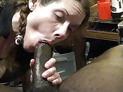 pussynella swallows bbc cum