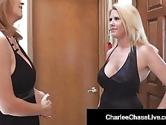 Spectacular Cougar Charlee Track Fucks Dancer Around Husband!