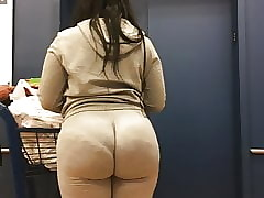 Stupendous Wedgie Plunder Milf everywhere see-thru Jumpsuit Part 2