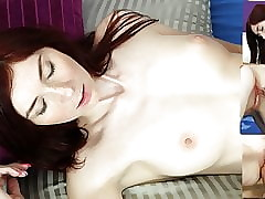 Piss Soaking Redhead Gets Fucked Fast