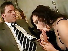 Randy mama milf connected with stockings fucked changeless