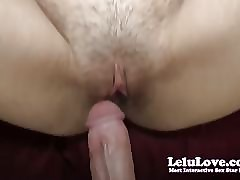 Lelu Love-POV Riding Sermonizer Creampie