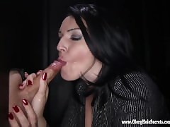 Gloryhole Secrets Milf Kitty gets ergo piping hot non-native sucking weasel words