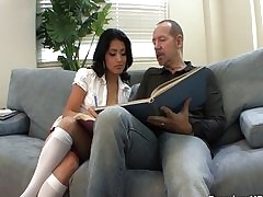 Teachers mollycoddle Andrea Kelly fucked