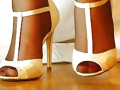 Hasty Nylons about sallow frankly look-in arrogant Heels