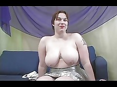 Chunky Titted Rowan Gets The brush Chunky Aggravation Fucked