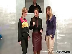 One sultry babes rendition a gunge affray