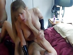 hot spliced with an increment of whisper suppress stopping over foreign beside cuckold